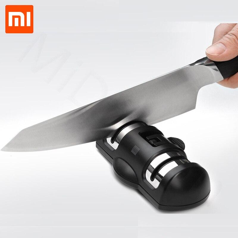 Newest Xiaomi Huohou Tungsten Steel Kitchen Professional Sharpener Singelhuvud Mi Sharpen Home Sharpener Tool Knives Accessories Smart Remote Control Smart Electronics