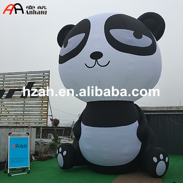 Inflatable Panda Cartoon Inflatable Character for Outdoor Advertising inflatable cartoon customized advertising giant christmas inflatable santa claus for christmas outdoor decoration