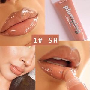 Wet Cherry Gloss Plumping Lip gloss Lip Plumper Makeup Big Lip Gloss Moisturizer Plump Volume Shiny Vitamin E Mineral Oil(China)