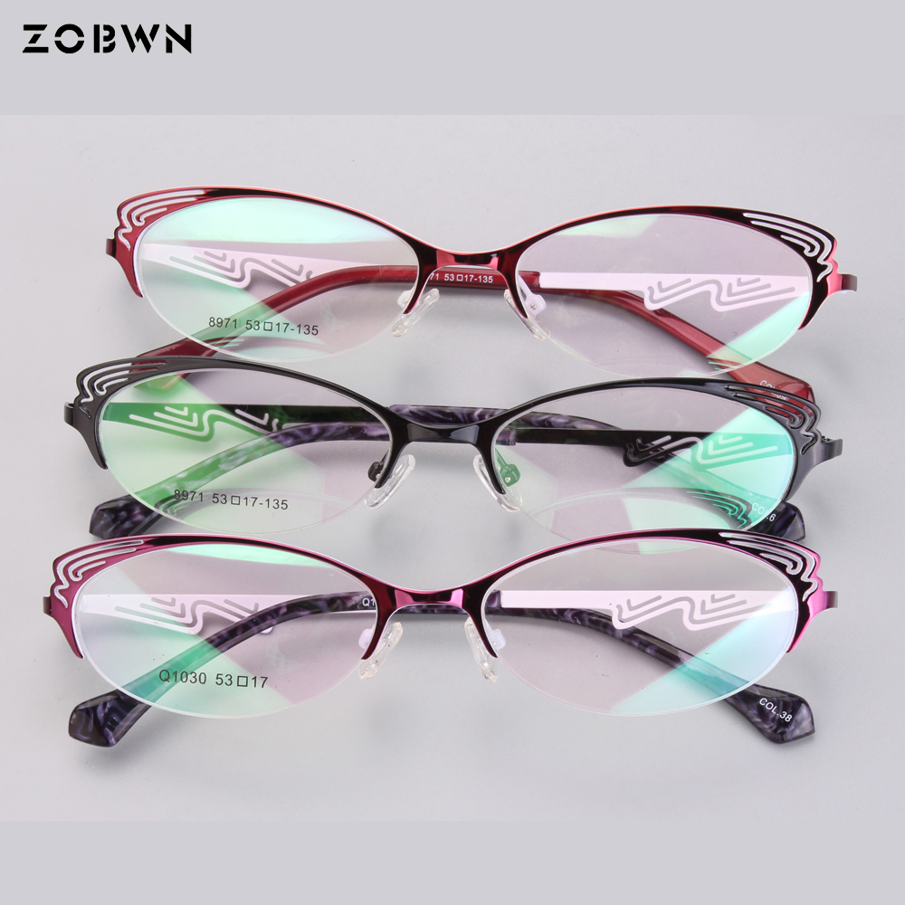 Mix Wholesale 2018 newest butterfly shape eyeglasses Fashion Men Women High Quality optical glasses for Reading prescription eye