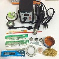 110V 220V EU US Plug 650W 858D ESD Soldering Station LED Digital Solder Iron
