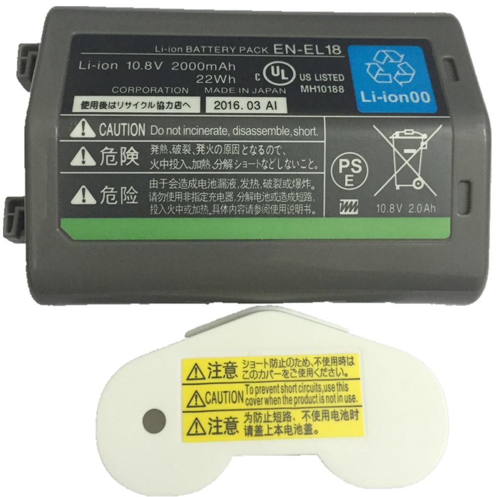 EN-EL18 EN-EL18A ENEL18 lithium batteries pack ENEL18A ENEL18 EN EL18 Digital camera battery For Nikon D5 D4 D4S D4X meike mk d750 battery grip pack for nikon d750 dslr camera replacement mb d16 as en el15 battery