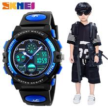 SKMEI Fashion Kids LED Digital Watches for Boys Girl Sport 5