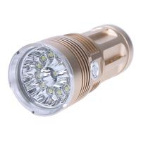 Mini Flashlight Aluminium Alloy 20W 3600mAh LED Flashlight Waterproof Torch Light Camping Hunting Lamp Portable Lighting
