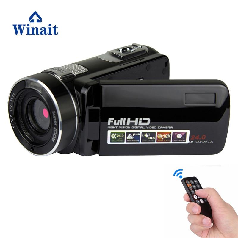 winait full hd 1080p Night Vision Digital Video Camera/24MP Digital Camcorder