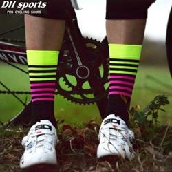 2017 new dh sport cycling socks men women professional breathable sports bike socks high quality cycling.jpg 250x250