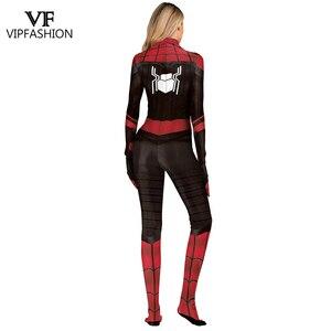 Image 5 - Vip Mode Spiderman Ver Van Huis Peter Parker Cosplay Zentai Van Justitie Superhero Vrouwen En Mannen Cosplay Kostuum Voor Unisex