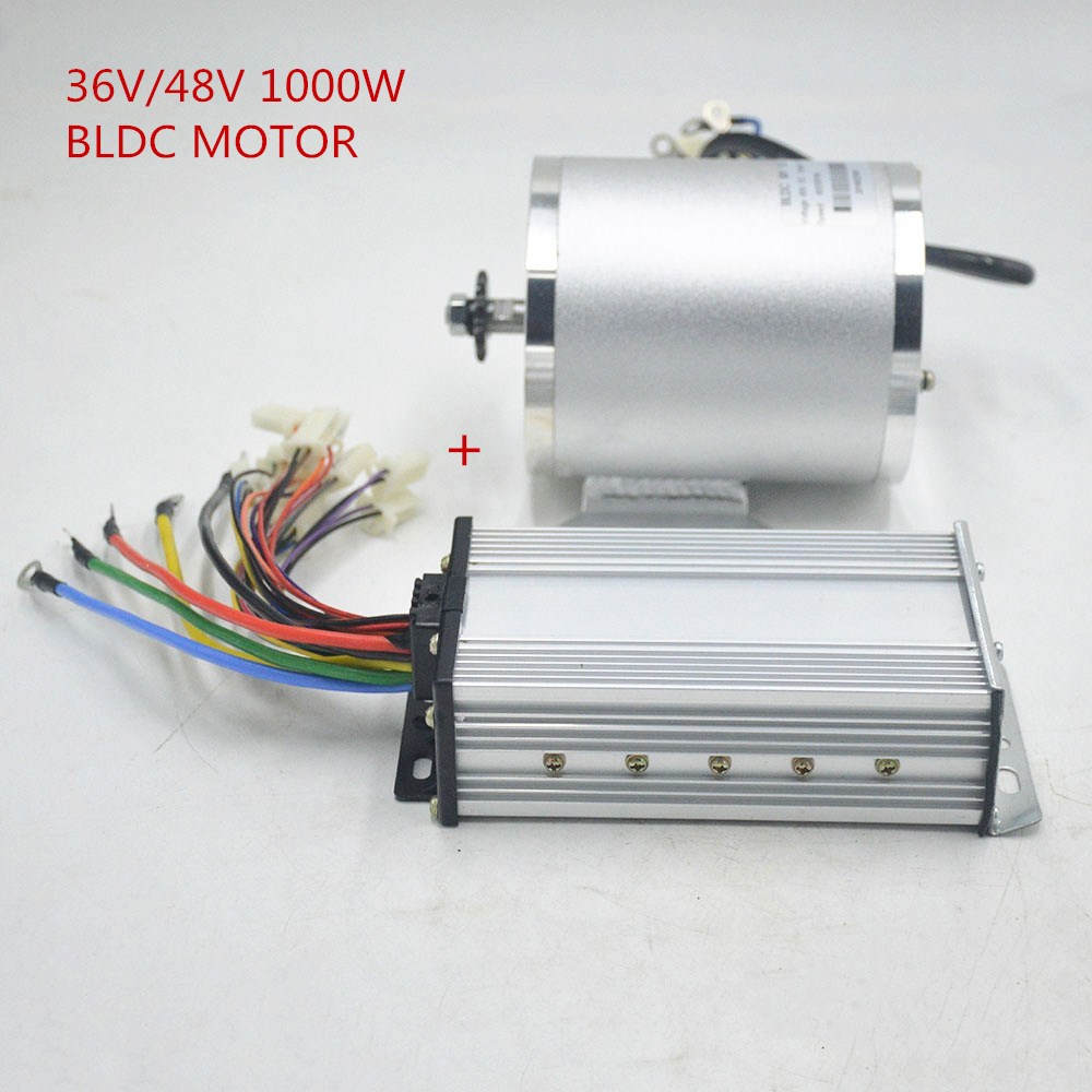 36V 48V 1000W e bike brushless motors electric bicycle motor bldc with controller for Tricycle e