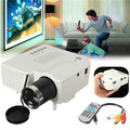 Hot Sale UC28 Portable led Projector Multimedia Mini Home projector full hd Cinema  VGA/USB/SD/AV/HDMI Input