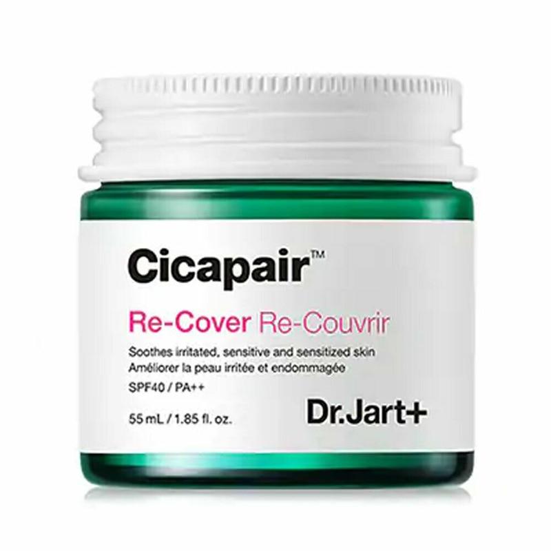 Dr.Jart+ Cicapair Re-Cover 55ml Face Cream Skin Color Correction Moisturizing Facial Serum Inflammation Scar Healing