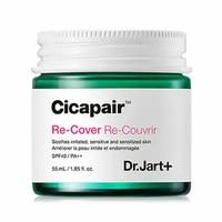 Dr.Jart+ Cicapair Re Cover 55ml Face Cream Skin Color Correction Moisturizing Cream Facial Serum Skin Inflammation Scar Healing