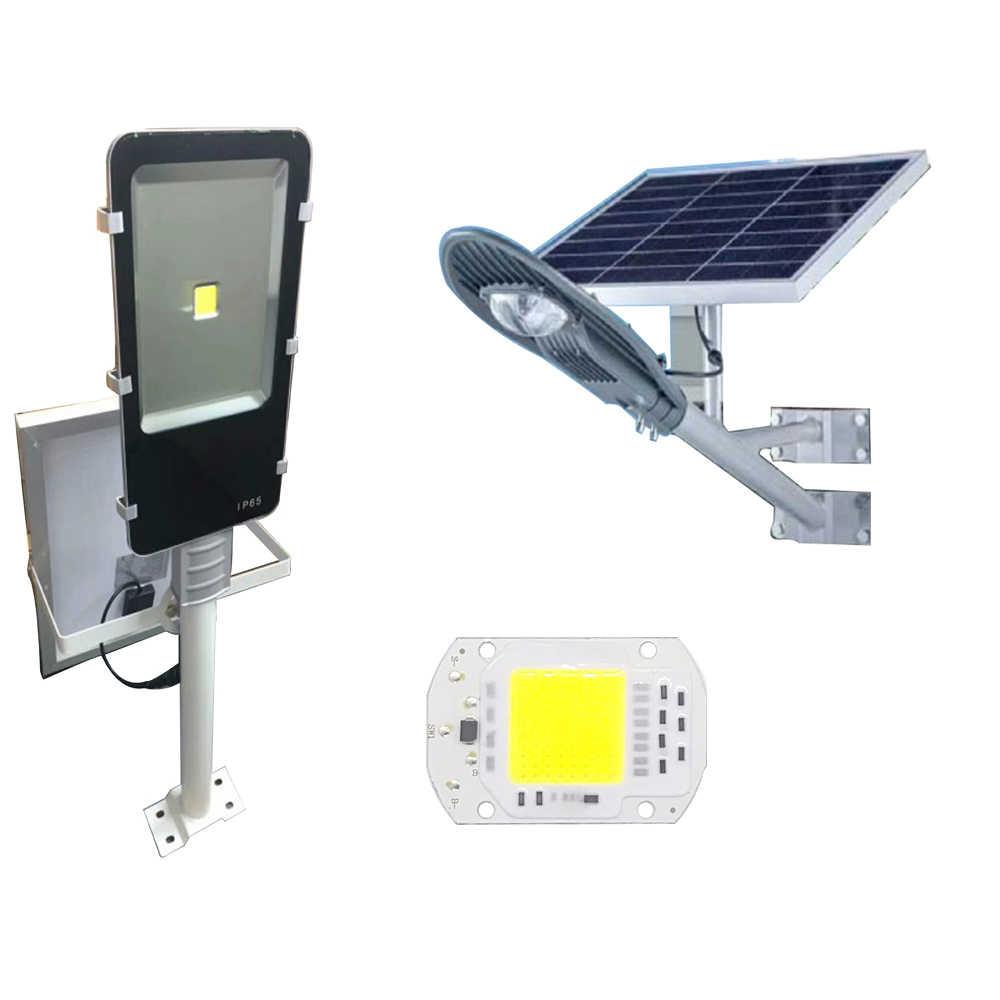 Inteligentny układ scalony 10W 20W 30W DC4V lampa o wysokiej mocy koraliki na zewnętrzny projektor oświetleniowy Solar Floodlight led wpuszczany Smart