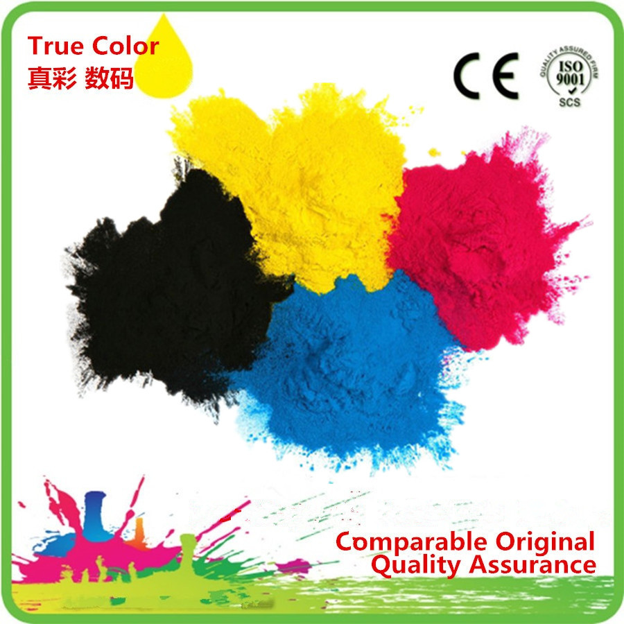 4 x 1Kg Refill Laser Copier Color Toner Powder Kits For DELL 1250C 1350CNW 1355CNW C1760NW C1766NF C1766NFW Printer toner cartridge for dell c2660 c2665 c2660dn c2665dnf color multifunctional printer for dell 67h2t tw3nn v4tg6 2k1vc toner kit