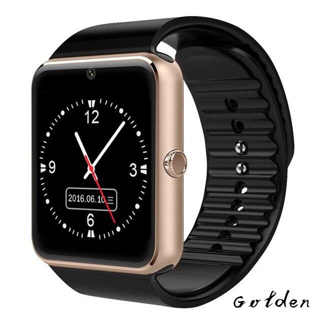 Reloj inteligente GT08 Plus reloj sincronización notificador soporte TF tarjeta SIM Bluetooth conectividad teléfono Android Smartwatch aleación reloj inteligente
