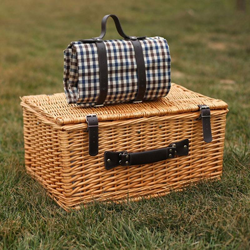 Корзины для пикника на открытом - Организация и хранения в доме - Фотография 3