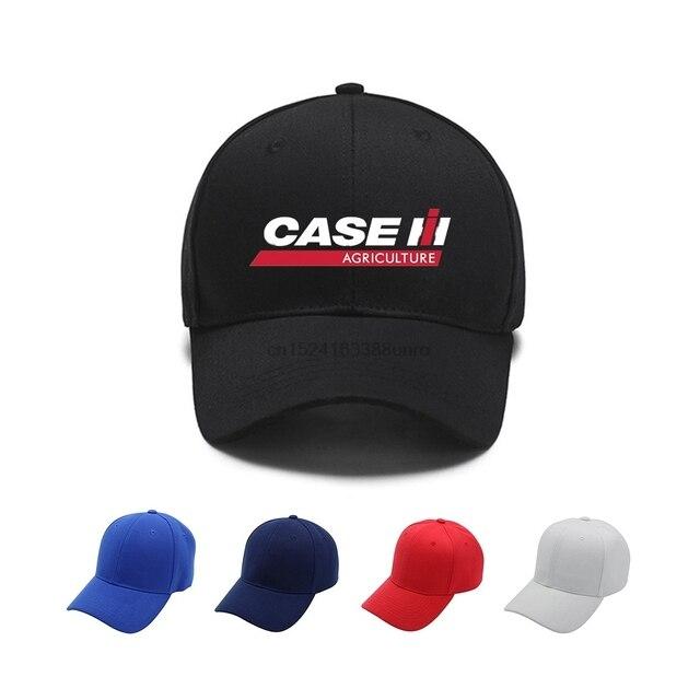 c1596f9a215 Case IH Tractor Agriculture Baseball Cap Men Dad Hat Cotton Bone Women  Snapback Caps Hip Hop