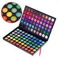 120 Цветов Профессиональные Ослепительная 3in1 Матовая & Shimmer Тени Для Век Макияж Косметические Palette