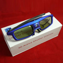 High Quality DLP 3D Active Glasses Good Using For Optoma DM181 EX539 InFocus IN1112 IN1110 3D Projector HDTV Eyeglasses