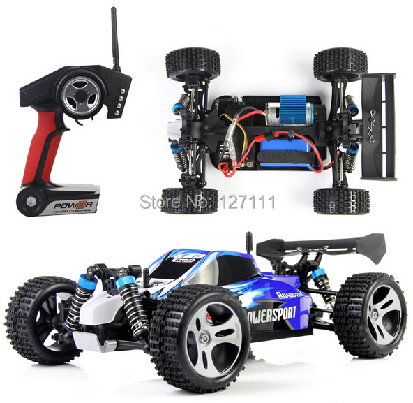 1/18 electric rc car 4WD 2.4GHZ remot control off road vehicle high speed 45KM/H Super Power Ready to Run