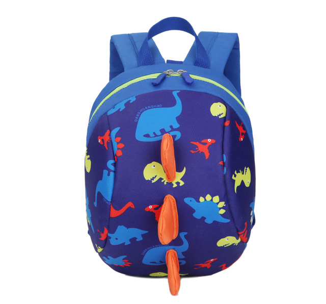 d661998c4db5 2017 School Backpack Anti-lost Kids Bag Cartoon Animal Dinosaur Children  Backpacks for Kindergarten baby boys girls School Bags