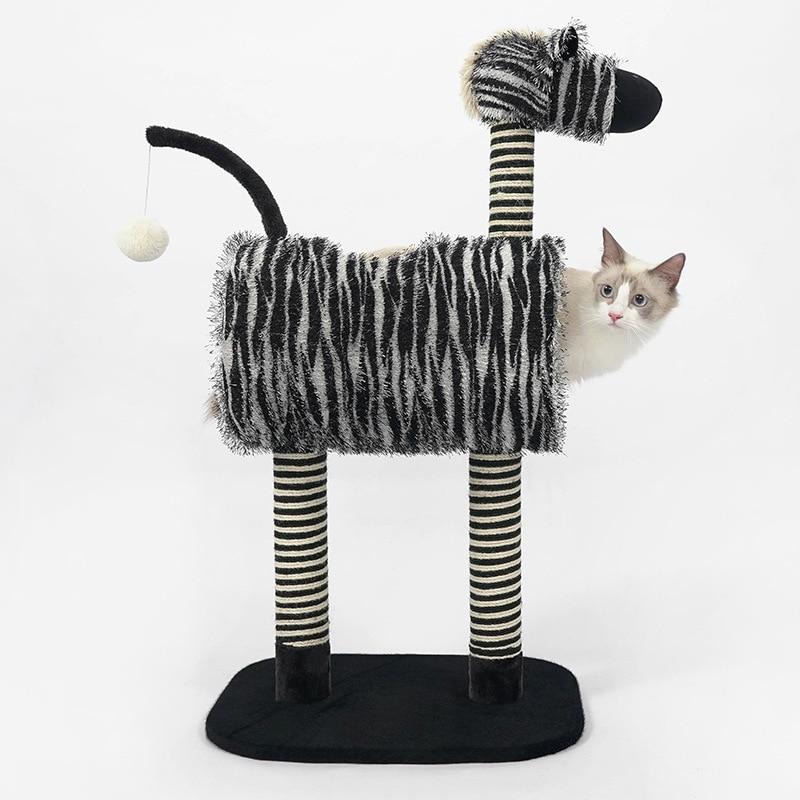 Pour chats scratch post étagère chat meubles chaton maison chats produits pour animaux mascotas condos nouveau livraison gratuite
