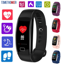 Timethinker Smart Bracelet Watches Bluetooth Relogio GPS Step Pedometer Fitness Tracker Wristbands Blood Hear Rate Monitor F64HR