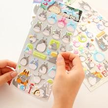 Kawaii Totoro Cartoon 3D Decorative Stickers