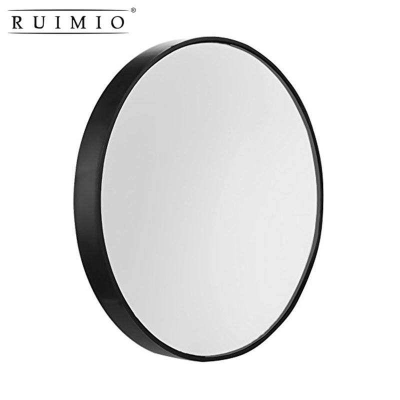 3.5inch 15X Magnifying Round Shape Makeup Mirror With Suction Cups Fixture Mirror Cosmetics Tools Magnification Beauty Tools