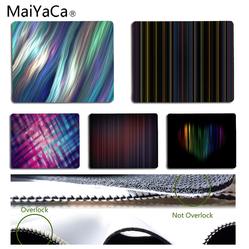MaiYaCa Line art Customized MousePads Computer Laptop Anime Mouse Mat Size for 25x29CM Speed Version Gaming Mousepads