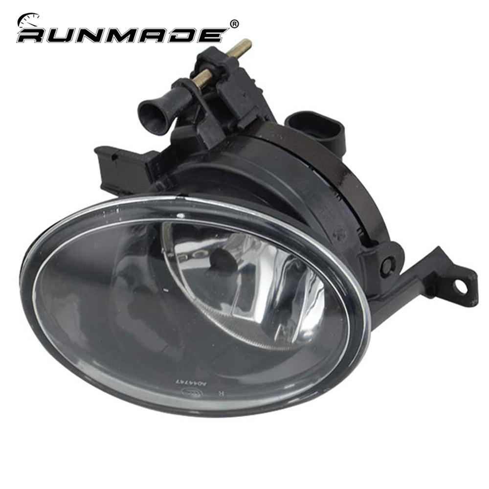 runmade For 2010-2013 VW Golf Mk6 GTi Clear Glass Lens 9006 Bulbs Fog Light Right Side 5K0 941 700