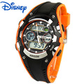 Children boys Digital Wristwatches Disney brands Mickey sports kids boy student watches Rubber Alarm Swim watches relogio clocks