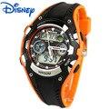 Niños niños relojes de pulsera digitales disney marcas deportes mickey kids boy swim relojes relogio relojes de alarma estudiante relojes de goma