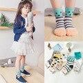 2016 Cotton children socks cartoon patchwork fashion kid socks 5pair/lot mix free shipping