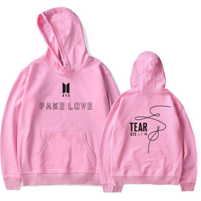 Fake Love Love Yourself Hoodies BTS