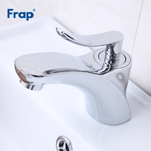 Image 5 - Frap Basin Faucets Chrome Stainless Steel Bathroom Basin Faucet Tap Sink Mixer Faucet Vanity Hot and Cold Water Brass Tapware