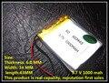Los fabricantes suministran PL603443 batería de polímero de litio 1000 MAH 3.7 V capacidad de la batería de litio