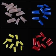 500 Pcs/Pack French Fake Full Cover Acrylic Nail Tips Nail A