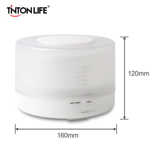 TINTON LIFE 500ml Remote Control Colorful LED Aromatherapy Air Humidifier Ultrasonic Mist Maker Aroma Essential Oil Diffuser Humidifiers