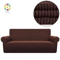 Fancai Stripe jacquard Sofa Covers For Living Room Sofa Cover Towel Fabric Combination