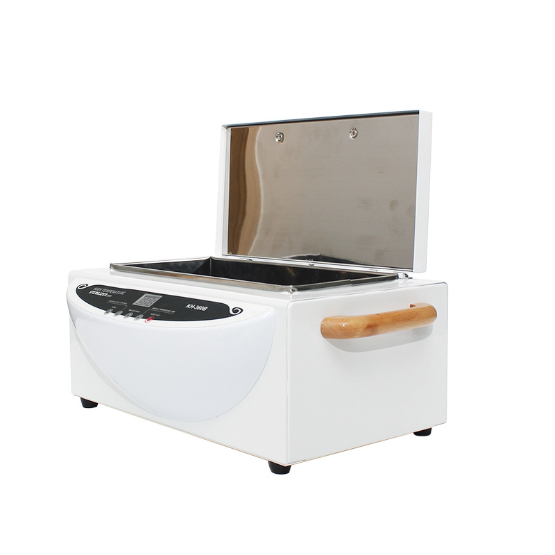 High Temperature Sterilizer Salon Nail Art Tools Sterilizer Box Autoclave sanitizing Box Dental autoclave sterilizer 110/220V nail sterilizer disinfect machine high temperature for metal tattoo art nipper tools with clean pot 10l