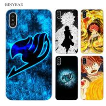 Fairy Tail Clear Cell Phone Case Cover for Apple iPhone
