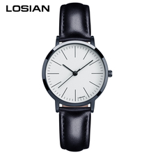 LOSIAN Ladies Watches Fashion Brief Trend Gormment Scale Waterproof Quartz Watch