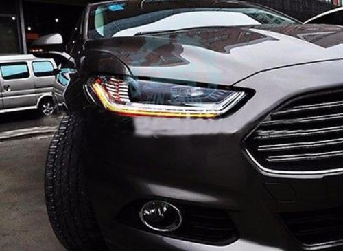 For Ford Mondeo/Fusion 2013-2015 High quality LED Strip Headlight 1Set redpower 21003 ford mondeo серый