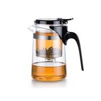 500ml Heat resistant Glass Teapot Borosilicate Glass Tea Pot 304 Stainless Steel Strainer Pure Tea Flower Tea Mug Cup Teaware