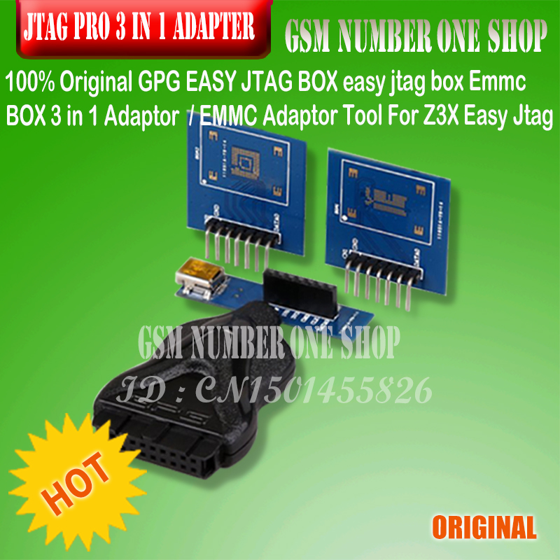 100% Original GPG EASY JTAG BOX easy jtag box Emmc BOX 3 in 1 Adaptor /EMMC Adaptor Tool For Z3X Easy Jtag Pro100% Original GPG EASY JTAG BOX easy jtag box Emmc BOX 3 in 1 Adaptor /EMMC Adaptor Tool For Z3X Easy Jtag Pro