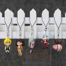 The Seven Deadly Sins PVC figure model straps