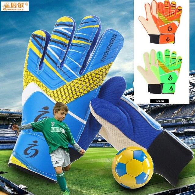 Us 9 44 25 Off Kinder Jungen Fussball Fans Torwart Handschuhe Nicht Slip Schaumen Pu Leder Fussball Handschuhe Geeignet Fur 7 15 Alter Jungen Goalie