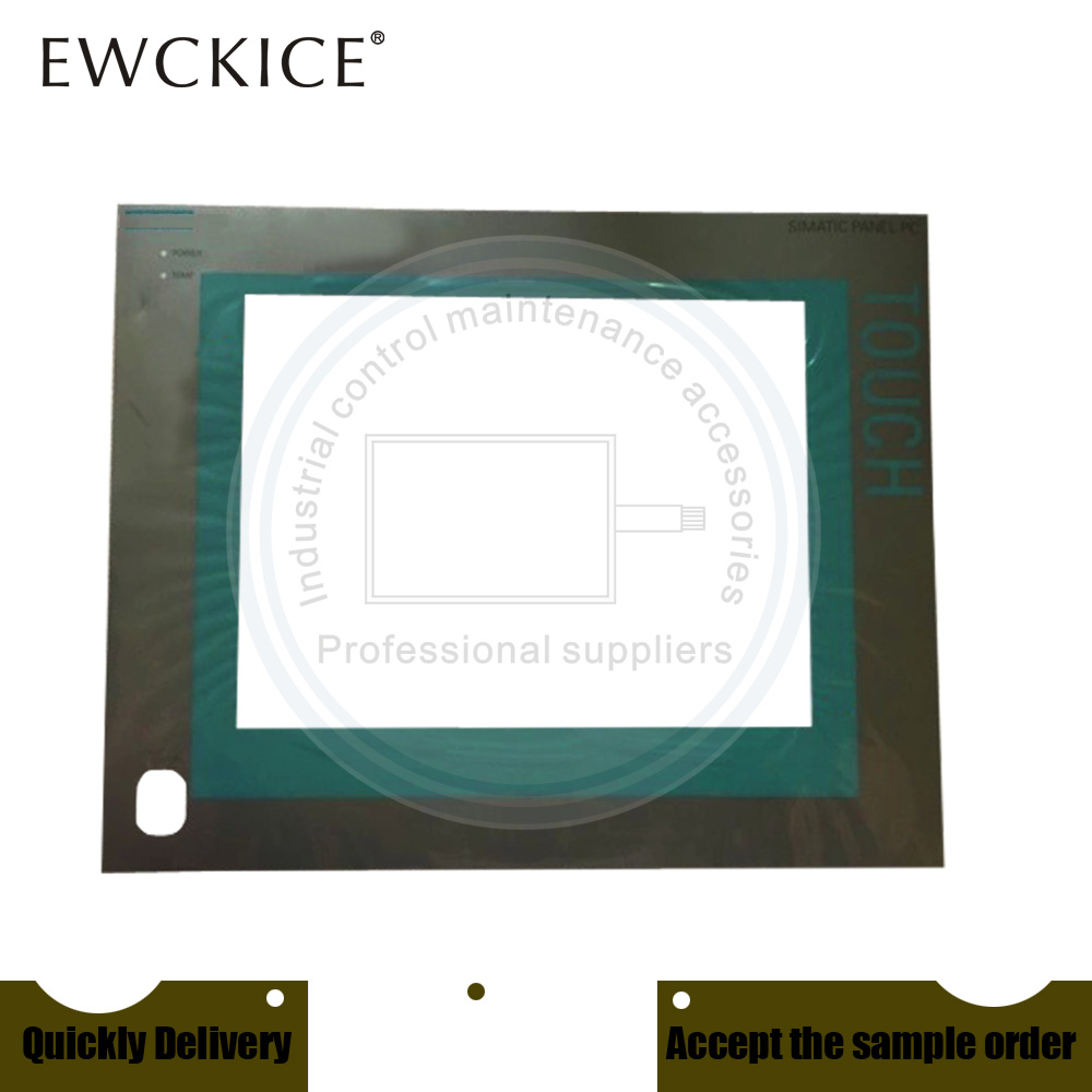 NEW PC477B 6AV7853-0AE20-1AA0 6AV7 853-0AE20-1AA0 HMI PLC Touch screen AND Front label Touch panel AND Frontlabel