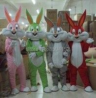 Bugs bunny mascot adult costume mascot costume sales customized mascot costume free shipping