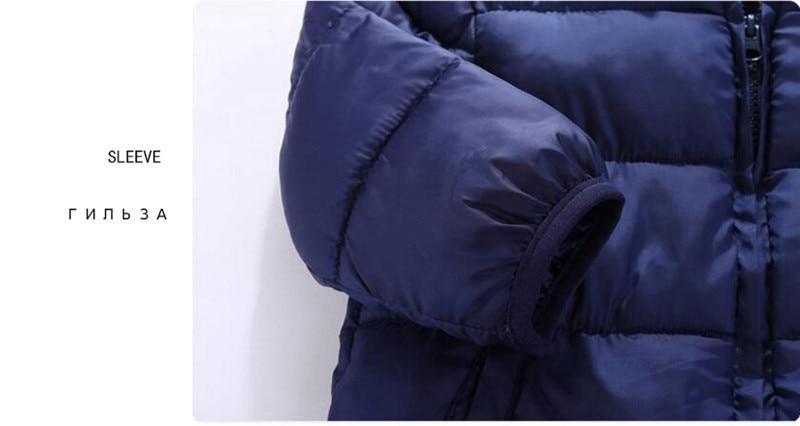 CROAL CHERIE Children's Parkas Winter Jacket For Girl Boys Winter Coat Kids Warm Thick Velvet Hooded Baby Coats Outerwear  (13)